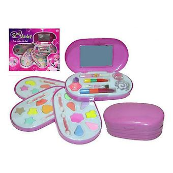 Make-up houder Beste Model Kinder 4 Compartimenten Roze (35,5 x 32,5 x 7 cm)