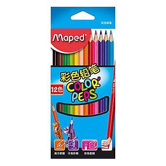 12 Color pencils