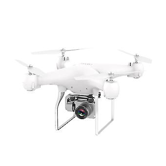 4K HD Camera drone 4k profesional RC Helicopters (Blanc)