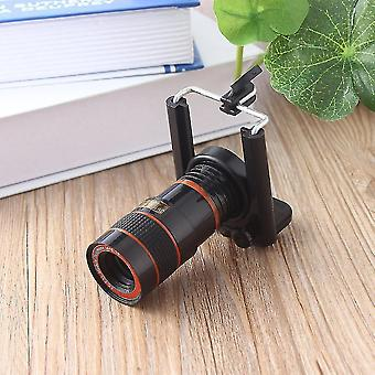 8x Optical Zoom Telescope Camera Lens For Mobile Phone For Iphone 4 4s 5