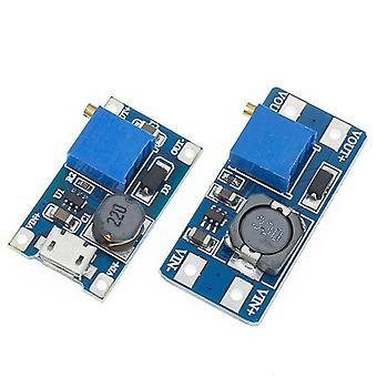 Circuit accessories 1pcs mt3608 2a max dc-dc step up power module booster power module