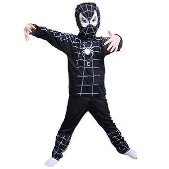 Halloween Kinder Junge Spiderman Cosplay Kostüm Outfit Set Fancy Dress Up