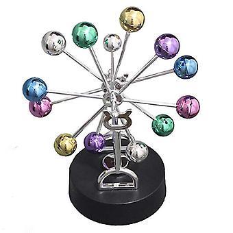 Miniaturas Roda Gigante Movimento Perpétuo Newton Pendulum Eterno Modelo Celestial Newton's Cradle Ornamentos Magnéticos Home Dcor
