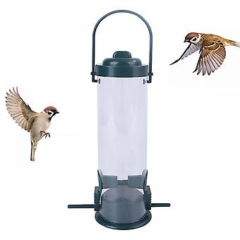 Outdoor hangende vogel feeder voor buiten balkon, automatische huisdier vogel feeder voor kleine vogels (a)