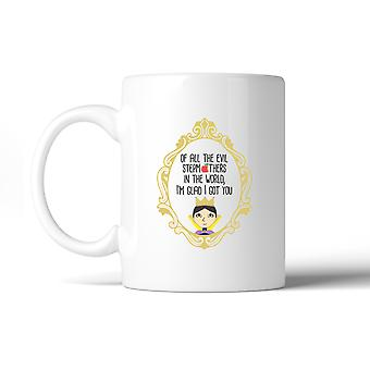 Of All The Evil Stepmothers Mother's Day Funny Design Graphic Mug