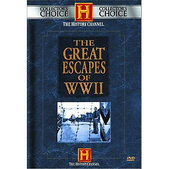 Great Escapes of WWII [DVD] USA import