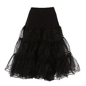 50-х годов ретро Винтаж Нижняя юбка юбка качели рокабилли 1950-х 26