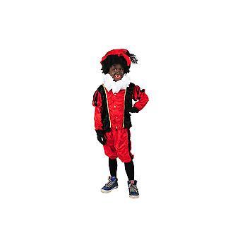 Disfraces Pieter negro traje niño negro rojo infantiles