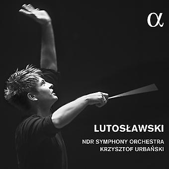 Lutoslawski / Ndr Symphony Orchestra / Urbanski, Krzysztof - Lutoslawski: Concerto pour orchestre / import USA Symphonie 4 [CD]