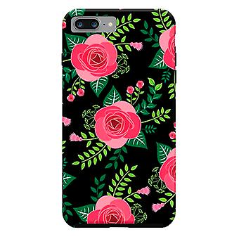 ArtsCase Designers casos vermelho e preto para iPhone dura 8 Plus / iPhone 7 Plus