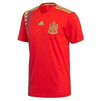 2018-2019 Španělsko Home adidas fotbalové tričko