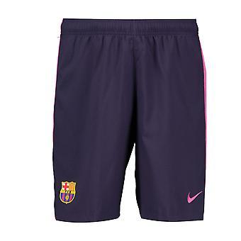 2016-2017 Barcelona Away Shorts Nike Fußball lila (Kids)