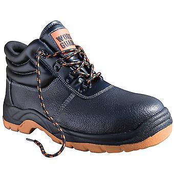 Resultado trabalho Mens guarda defesa Lace-as botas de segurança