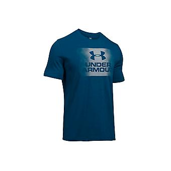 Under Armour Overspray Logo SS Tee 1289894-997 Mens T-shirt