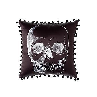Sourpuss Clothing Skull Pillow