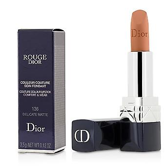 Christian Dior Rouge Dior Couture färg komfort & slitage Matt läppstift - # 136 delikat Matt - 3.5g/0.12oz