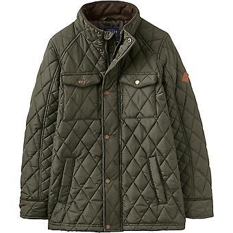 Julios muchachos Stafford cálido edredón acolchado Biker chaqueta de estilo
