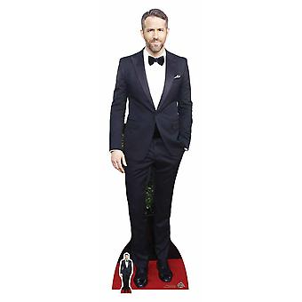 Ryan Reynolds in Tuxedo Lifesize Cardboard Cutout / Standee / Standup