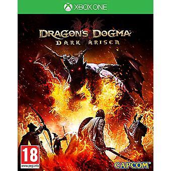 Un jeu de dragons dogme sombre mastiquer HD Xbox