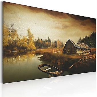 Canvas Print - Idyllic village