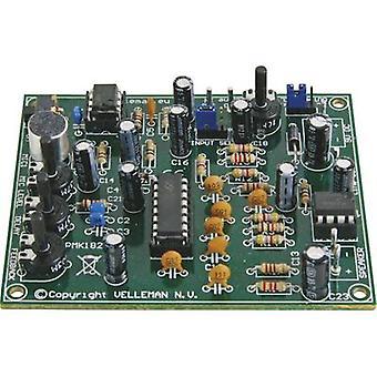 Whadda MK182 Digital reverb Assembly kit 9 V DC, 12 V DC