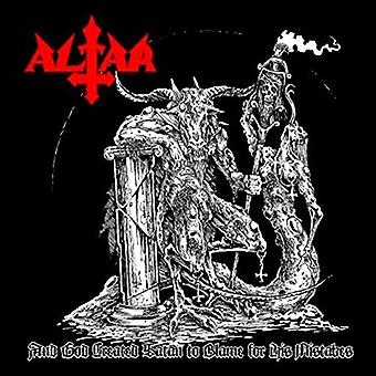 Altar - & God Created Satan to Blame for His Mistakes [CD] USA import