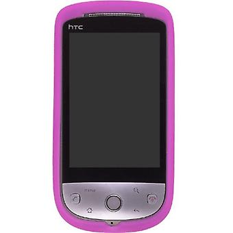 Wireless Solution - Silicone Gel Case for HTC Hero (CDMA); PCD ADR6250 (Hero) - Hot Pink
