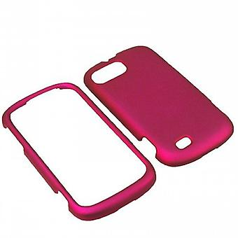 Unlimited Cellular Rubber Essentials Slim and Durable Rubberized Case ZTEN850PCLP014 pour ZTE Fury/Director N850 (Pink)