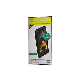 5 Pack -Wrapsol Ultra Screen Protector for HTC EVO 4G (Screen-Only)