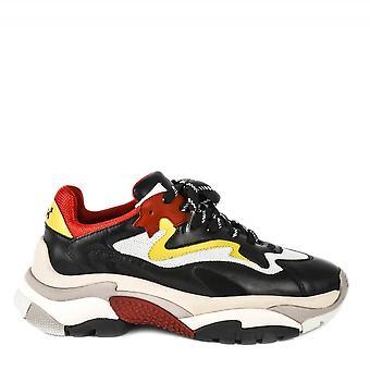 Ash Footwear Men's Atomic Red And Black Sneakers