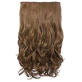 IKRUSH Mujeres Volumen Intenso Curly ClipHair Extensiones