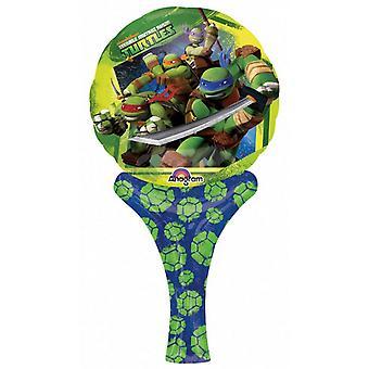 Anagram mladý Mutant Ninja želvy nafouknutí fólie pro zábavu
