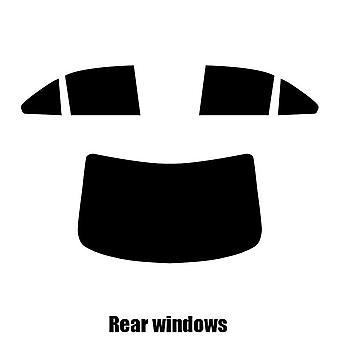 Pre cut ikkunasävy - Suzuki Kizashi - 2010-2014 - takaikkunat