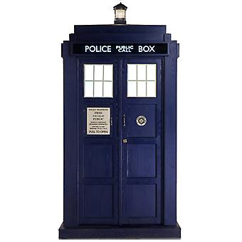 TARDIS Mini - kartonnen uitsnede