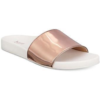 Bar III Womens Reagan Open Toe Casual Slide Sandals