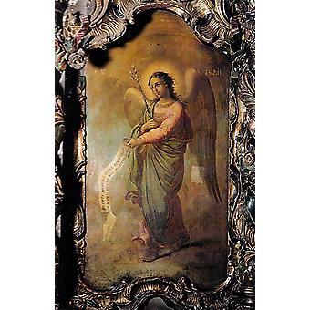Archangel Gabriel, Nicolae Grigorescu, 60x40cm