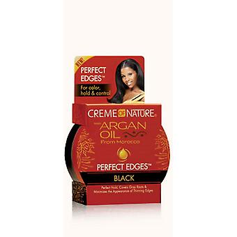 Creme of Nature Moroccan Argan Oil Perfect Edges Black 64g