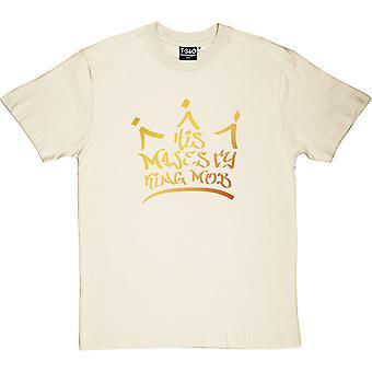 Su Majestad King Mob Natural Men's Camiseta