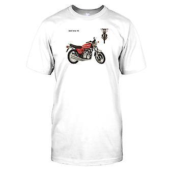 Benelli 750 SE 1976-Classic Muscle Bike Mens T-shirt