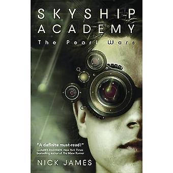 Skyship Academy - les guerres perles par Nick James - livre 9780738723419