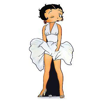 Betty Boop zeven jaar jeuken Lifesize karton knipsel / Standee