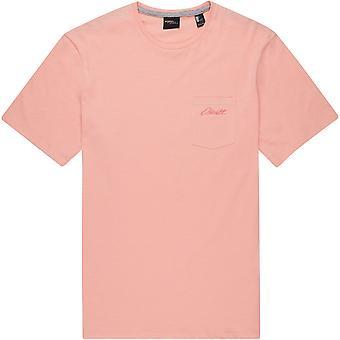 O'Neill Miesten t-paita ~ Jacks Base vaaleanpunainen