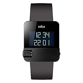 Braun digital watch with rubber strap BN0106BKBKG