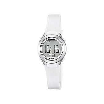 Calypso K5677/1-Unisex wristwatch, plastic, colour: white