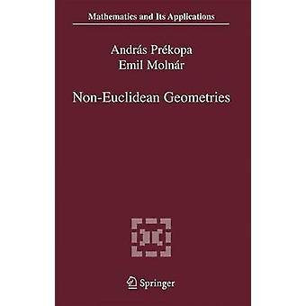 NonEuclidean Geometries  Jnos Bolyai Memorial Volume by Prkopa & Andrs
