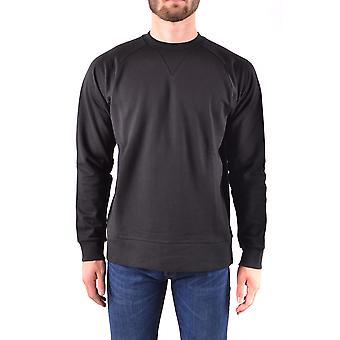 Y-3 Ezbc044022 Männer's schwarze Baumwolle Sweatshirt