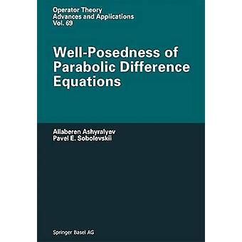WellPosedness of Parabolic Difference Equations by Iacob & A.