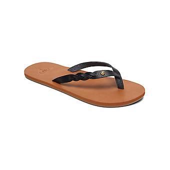 Roxy II Liza Odzież na co dzień Thong Beach sandały - czarny