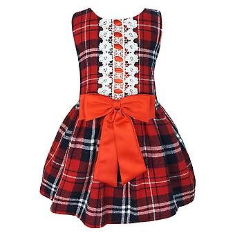 Baby Girls Tartan Highland Sleeveless Party Dress