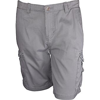 Quiksilver Mens Crucial Battle Cargo Shorts - Quiet Shade Gray
